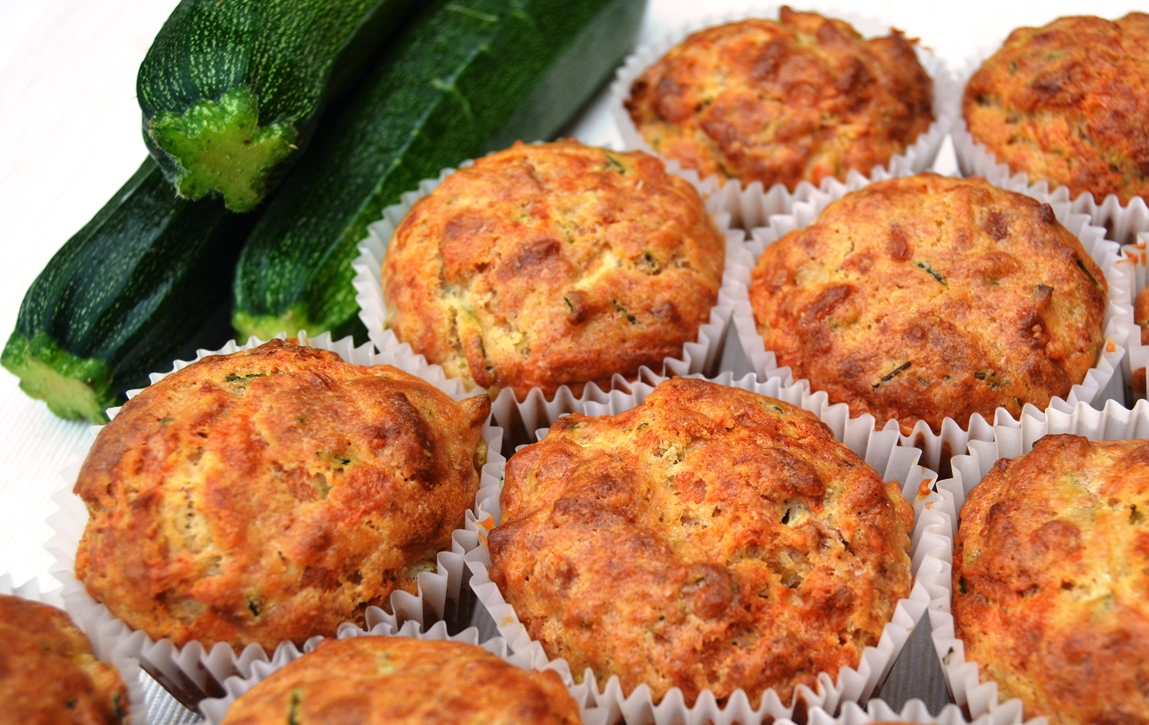 Courgette and Cheese Muffins
