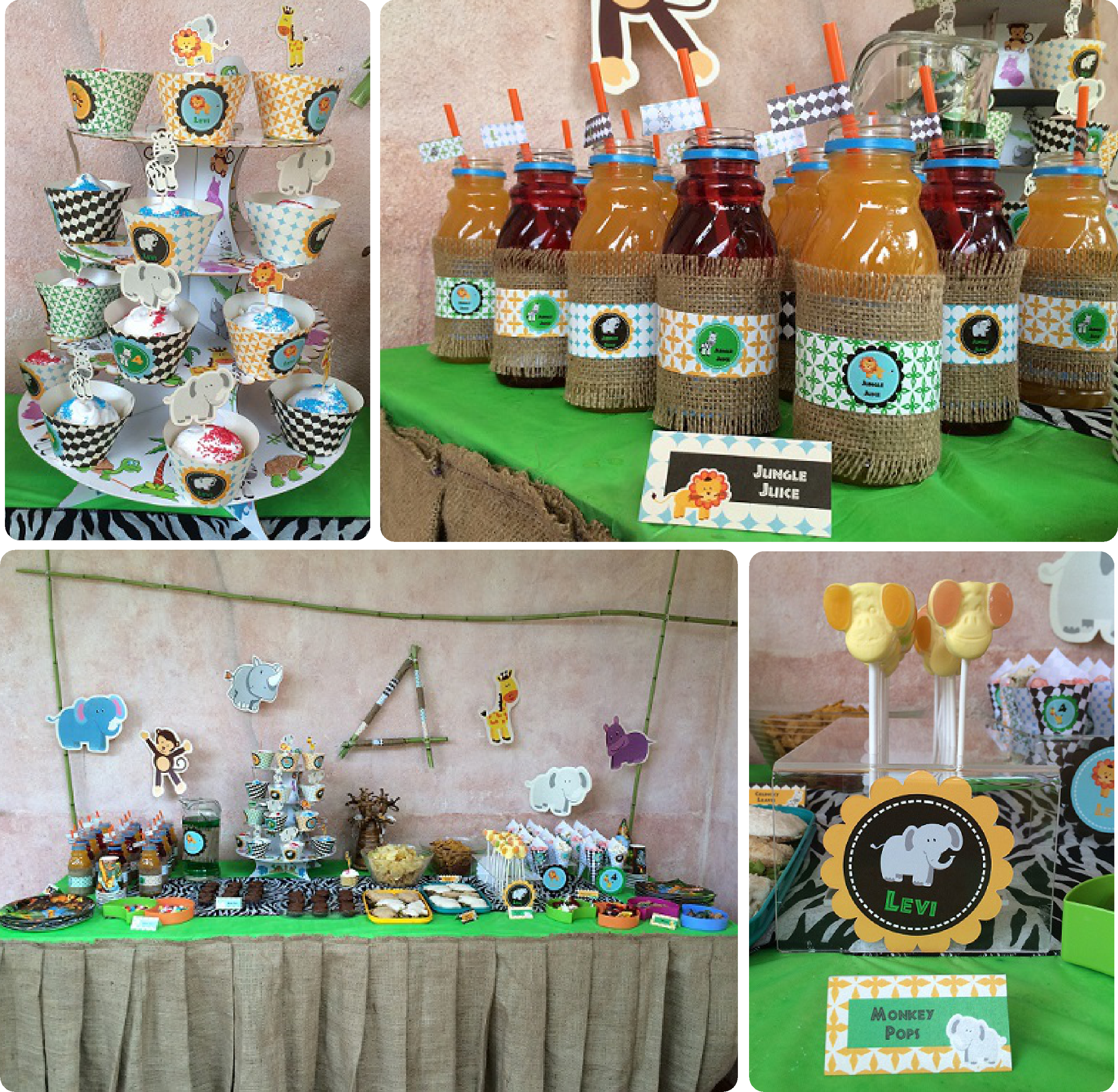 Safari Jungle Party Decorations
