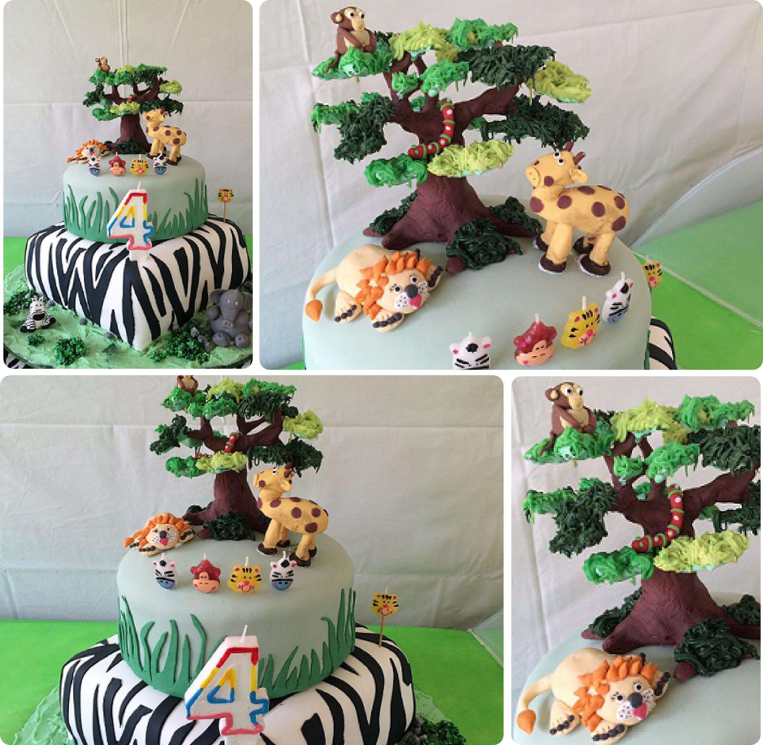 Jungle Safari Cake Ideas