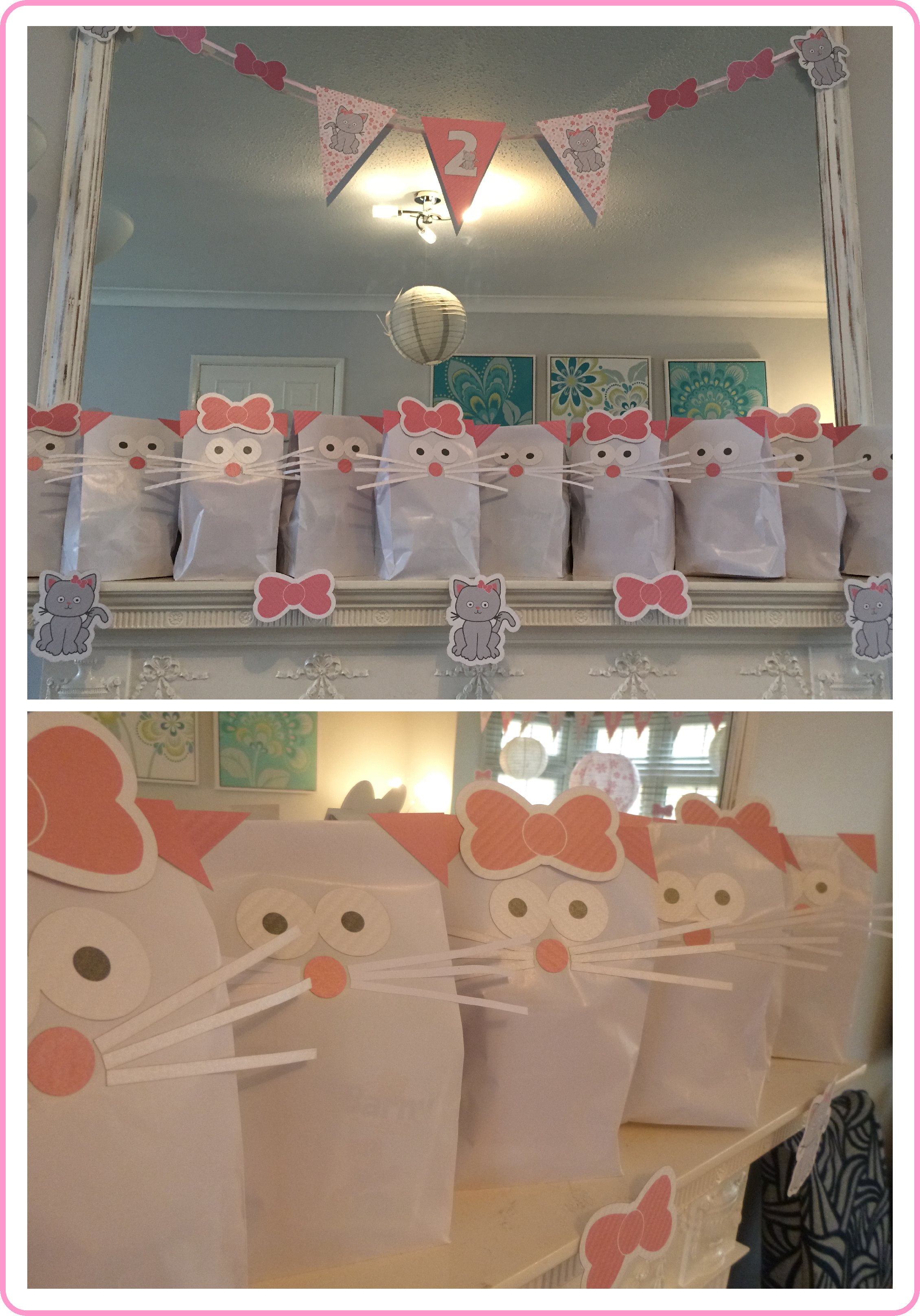 Kitty Cat Party Bags