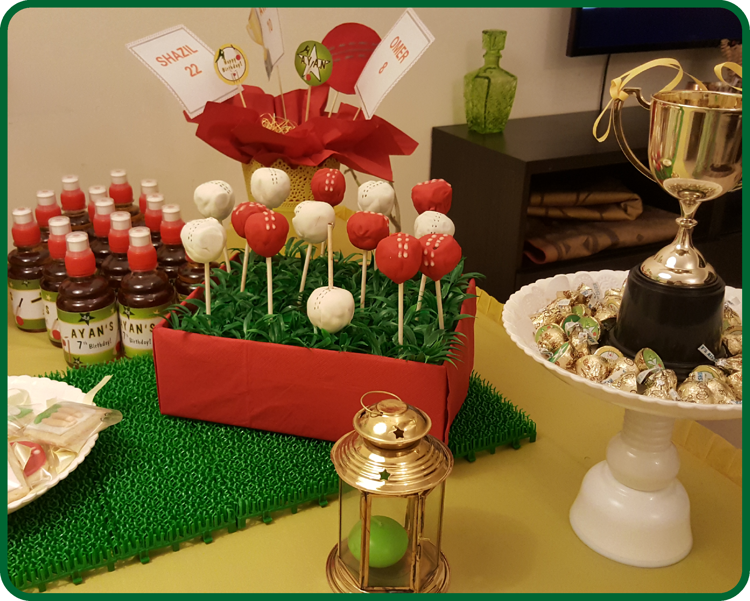 Cricket Party Decorations