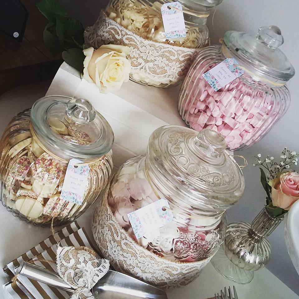 Vintage Rose Sweetie Treat Table