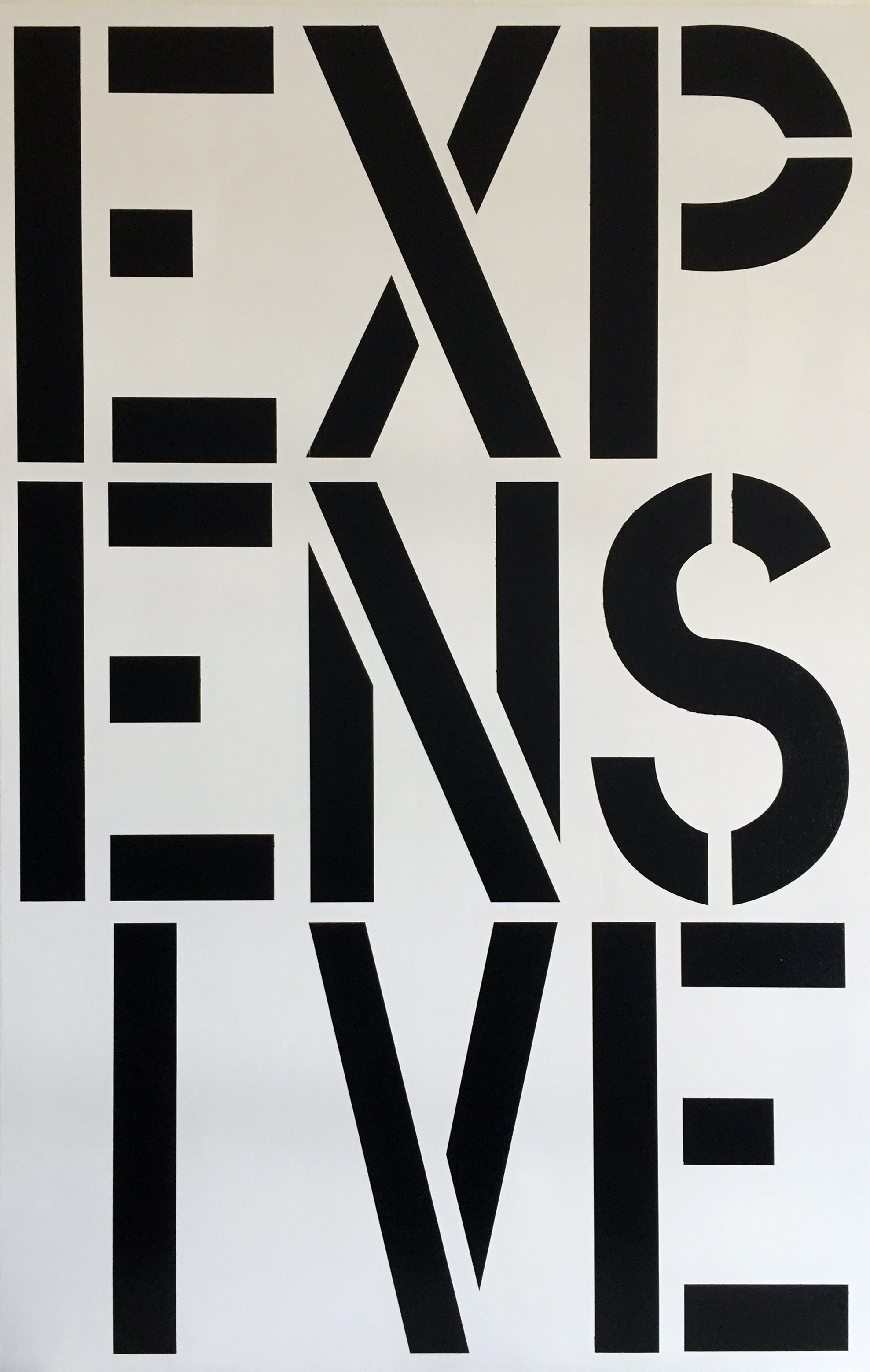 After Christopher Wool – Expensive