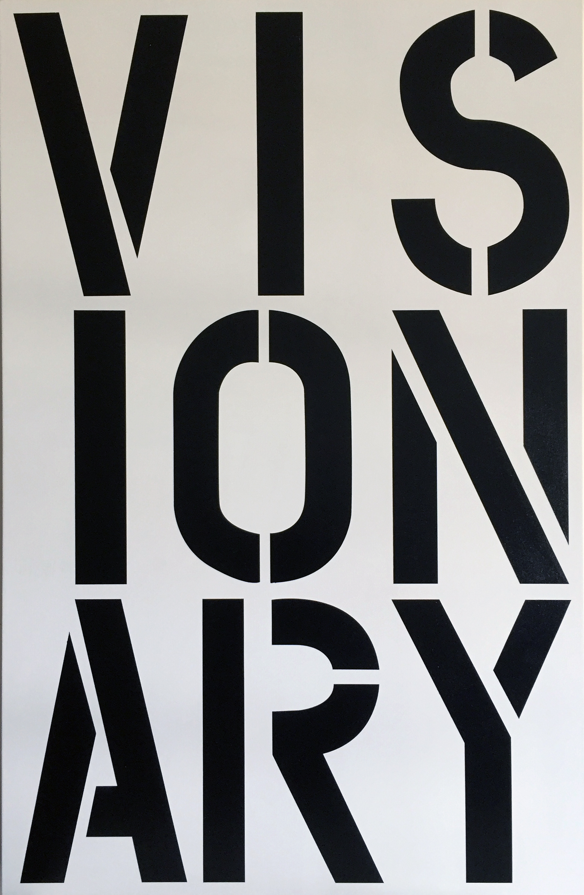 After Christopher Wool – Visionary