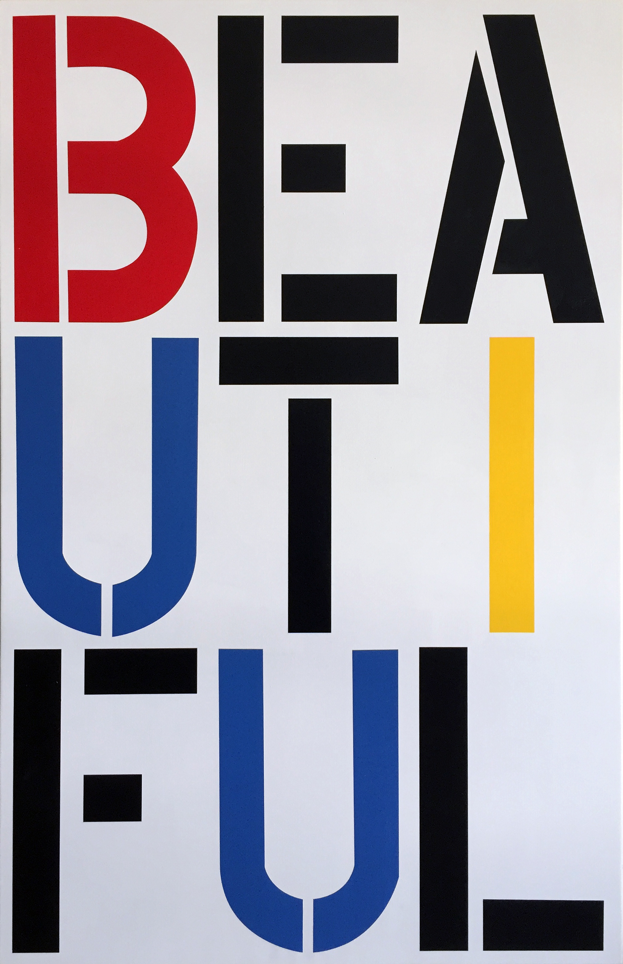 After Christopher Wool – Beautiful