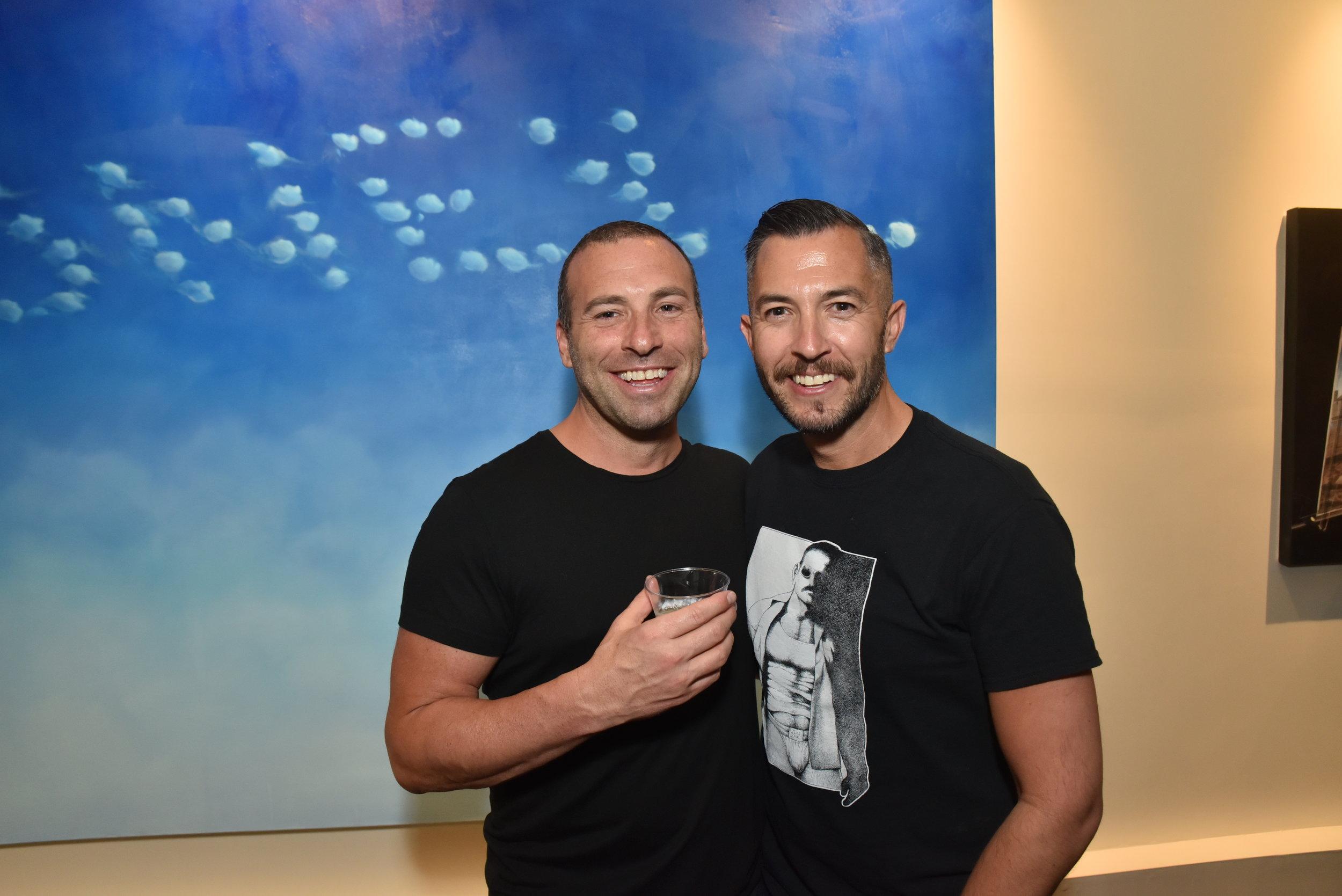 Curator: Steven Vasquez Lopez (right)