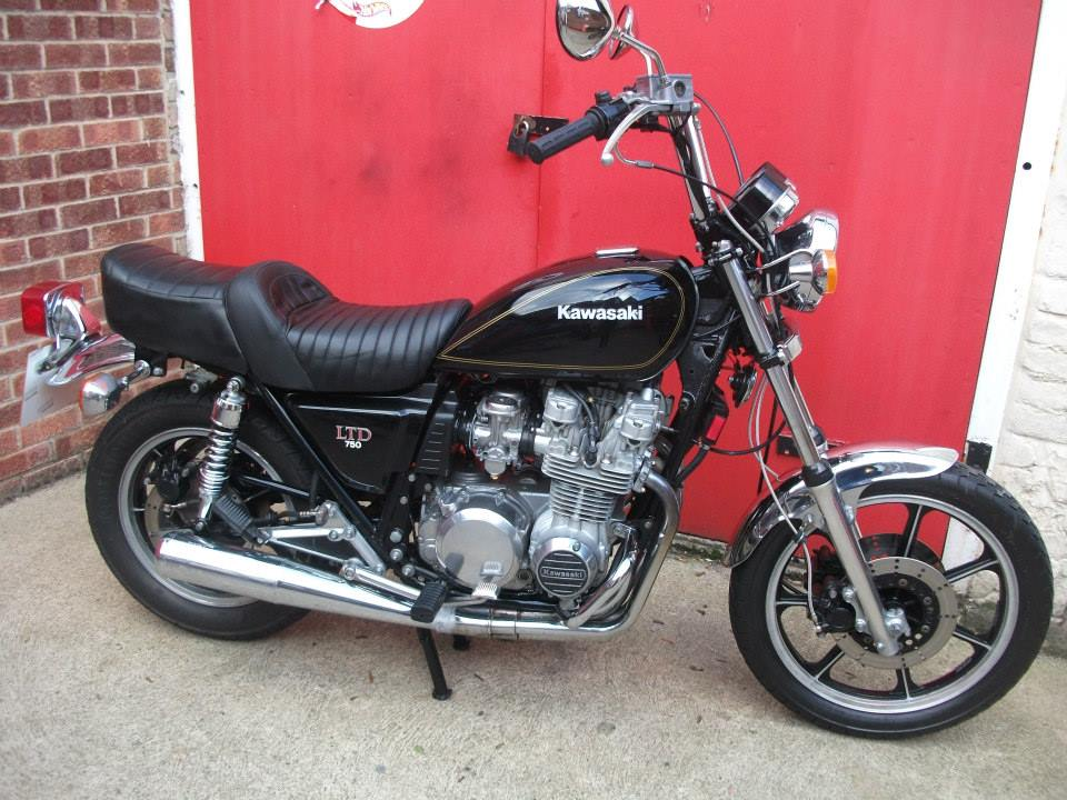 NOW SOLD ... 1981 Kawasaki Z750 LTD H2. lovely bike, very clean , sweet engine, lots of new parts inc mudguards, handlebars, rear shockers, forks, oil & filter, goodridge hoses, taxed and tested.  may take P/X. call for details . NOW SOLD