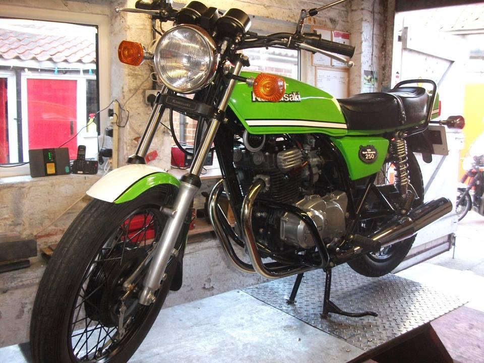 1981 Kawasaki Z250 Kork Ballington Replica