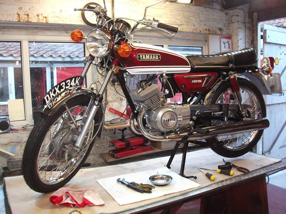 1972 Yamaha AS3