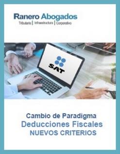 Cambio de Paradigma Deducciones Fiscales NUEVOS CRITERIOS