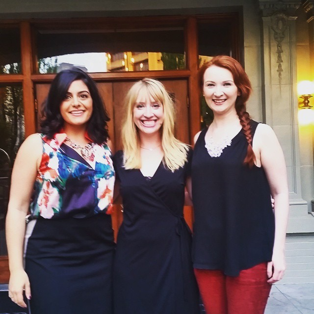 Me, Elisabeth Ellis (Pianist), Ksenia Popova (Marketing Coordinator, Seattle Opera)