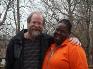 Senior High Youth Advisors, Tim Murphy & Anita Saunders