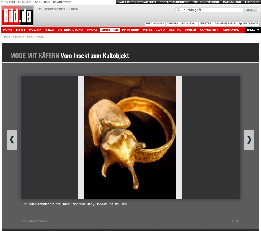 Bild.de news