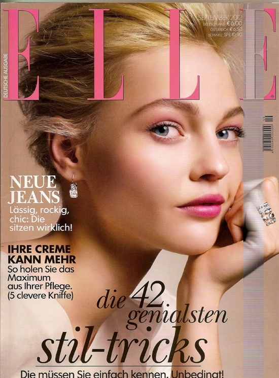 German Elle September 2012