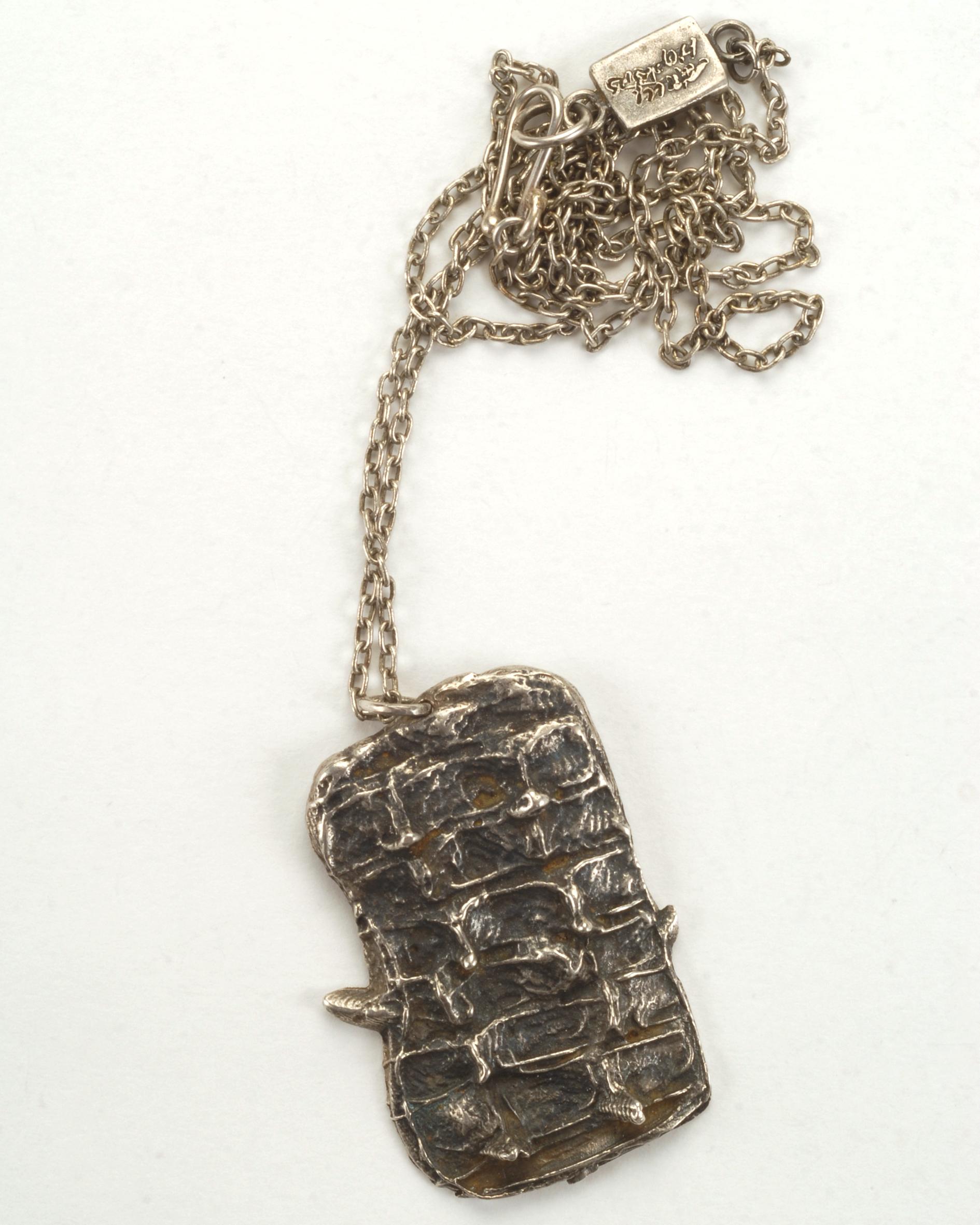 Crocodile Necklace- Sterling N/CF1