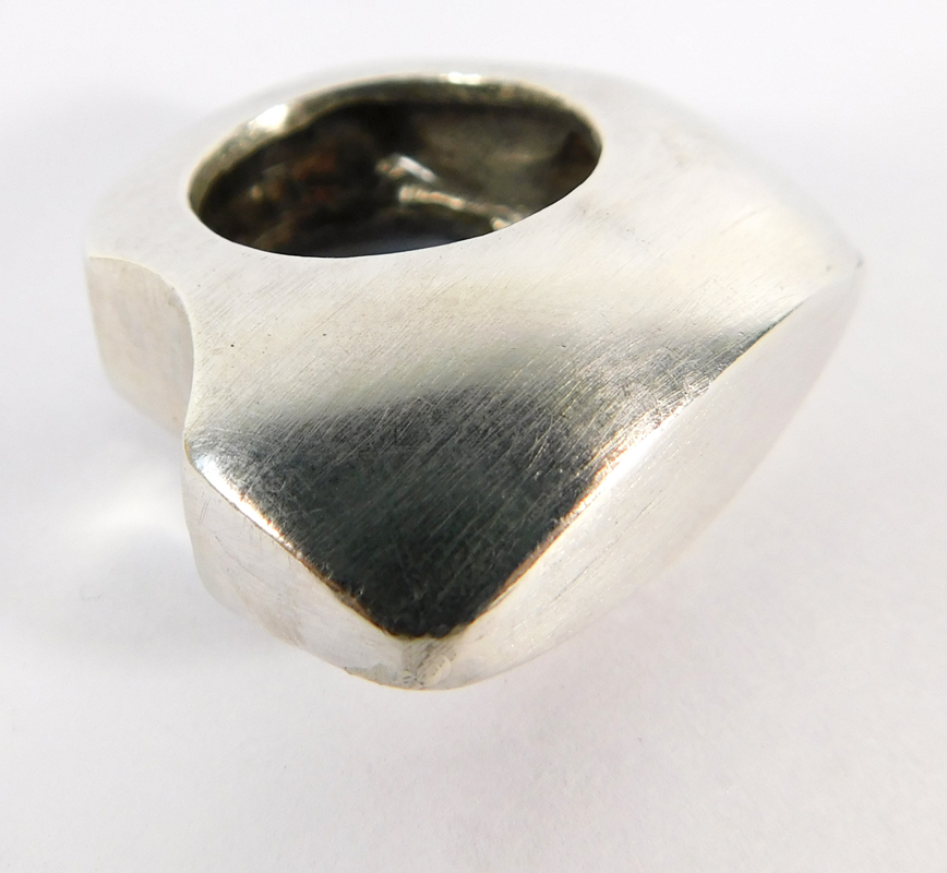 Signature Ring- Sterling Silver