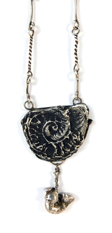 Nautilus Necklace- Sterling