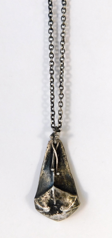 Umbrella Pine Pendant- Sterling
