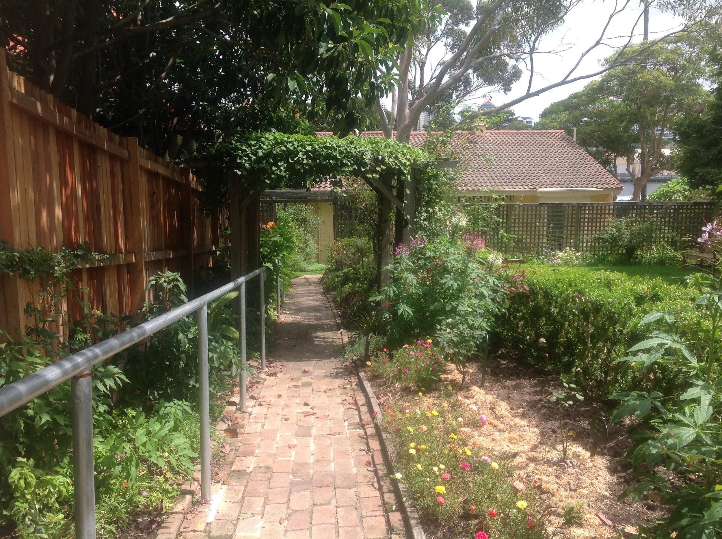 Imaginary gardens, Nutcote House, Neutral Bay,Sydney