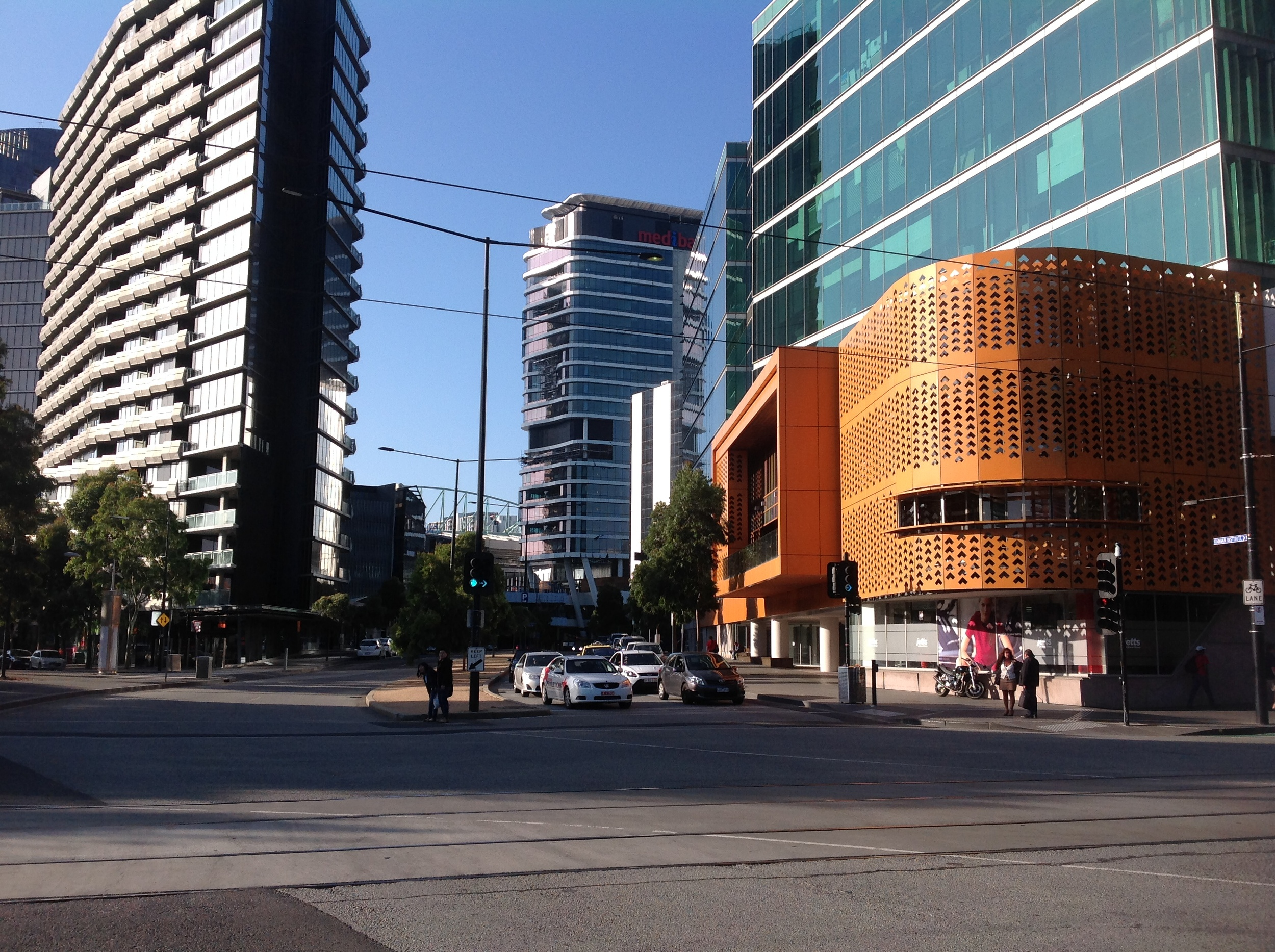 Newer buildings, Melbourne