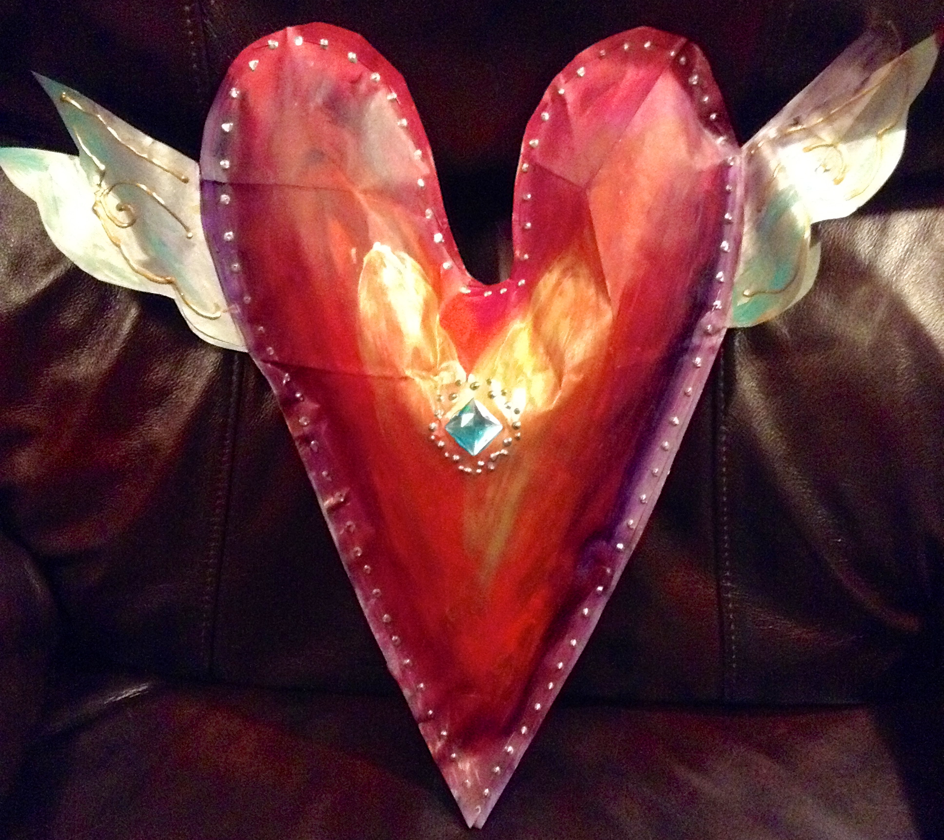 Heart Doorhanger Project