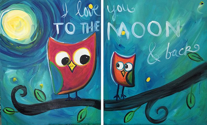 Collaborative Owl Family