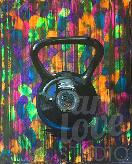 Colorful Kettle Bell