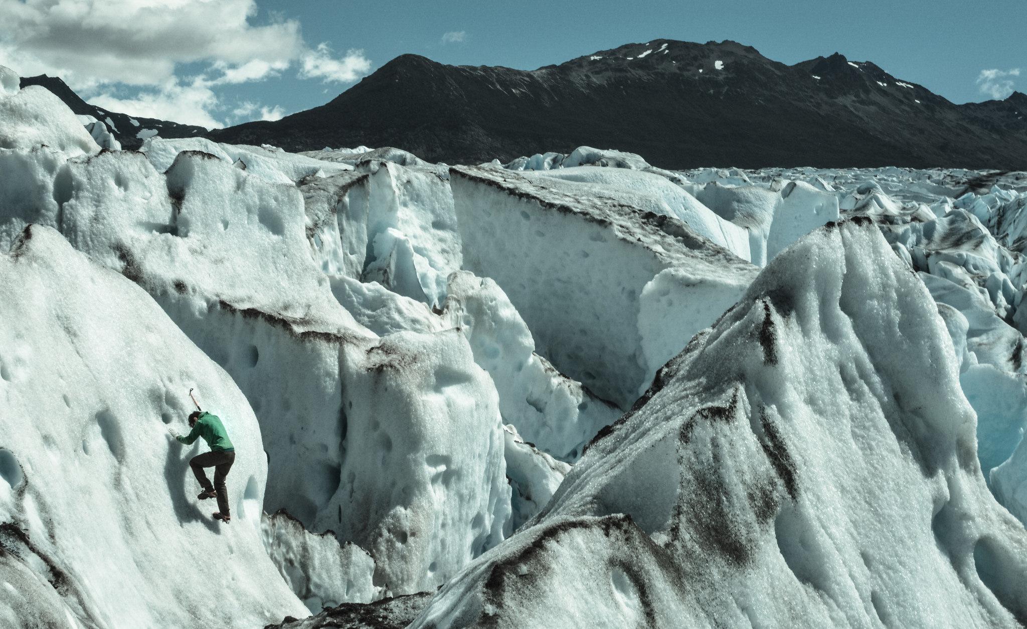 Casual Glacier Climb - Viedma Glacier, Patagonia