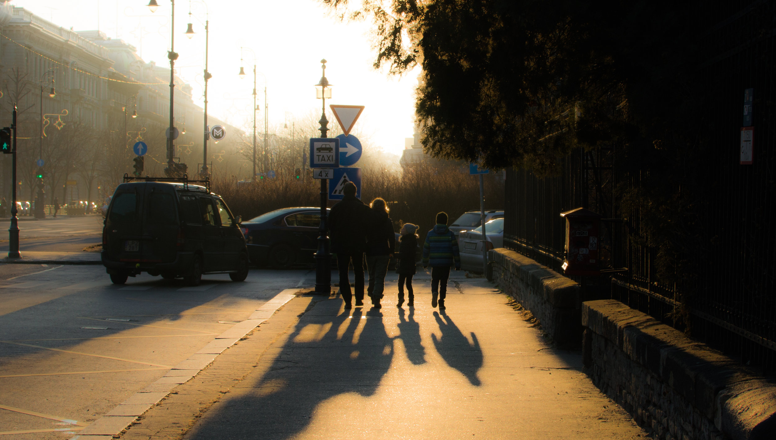 A Family Walks in Budapest - Budapest, Hungary