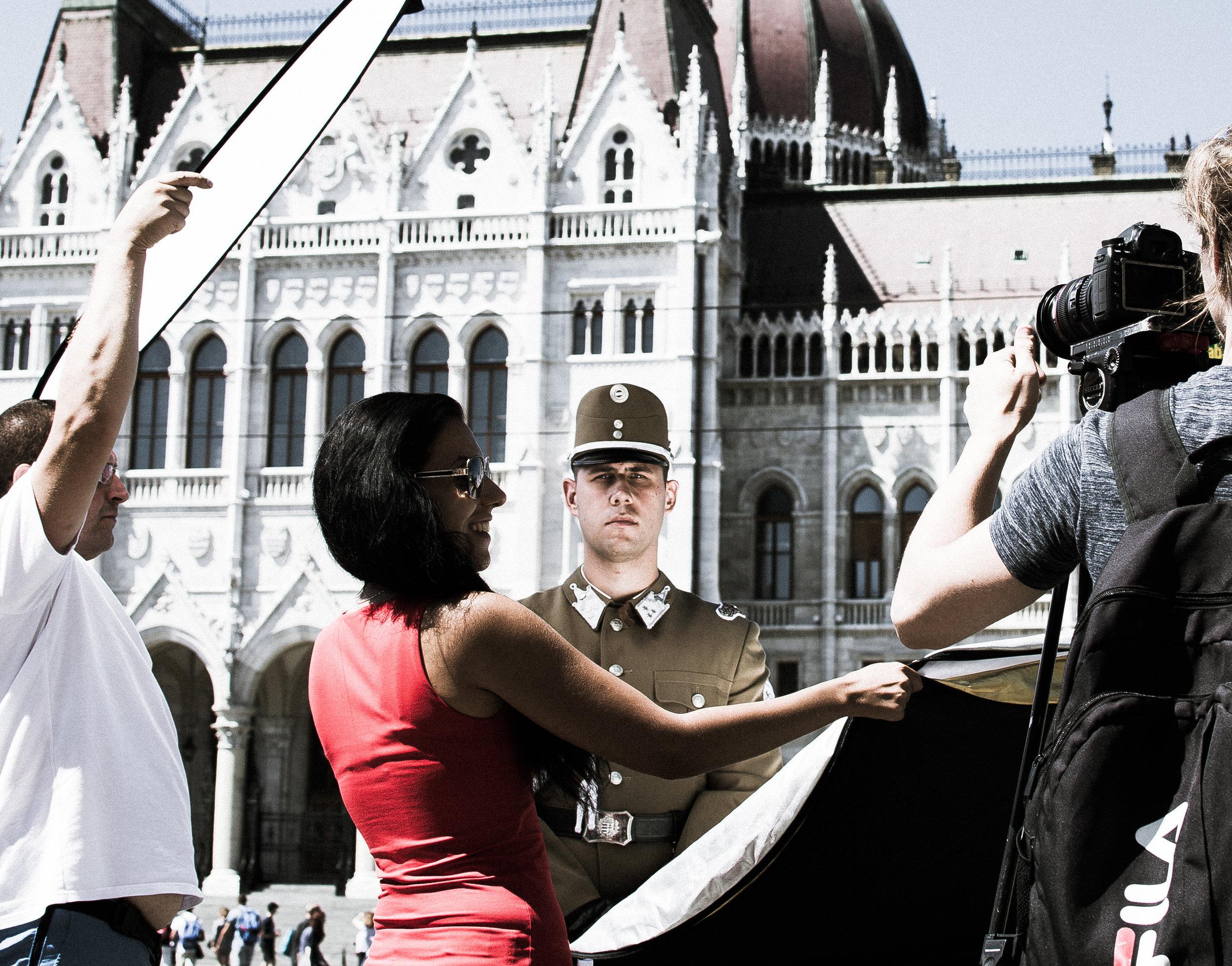 Photo Shoot Hijack - Budapest, Hungary