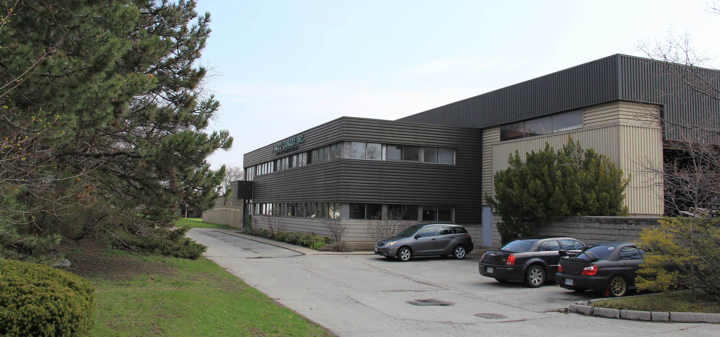 The new ICCO Building on Dunwin Dr.
