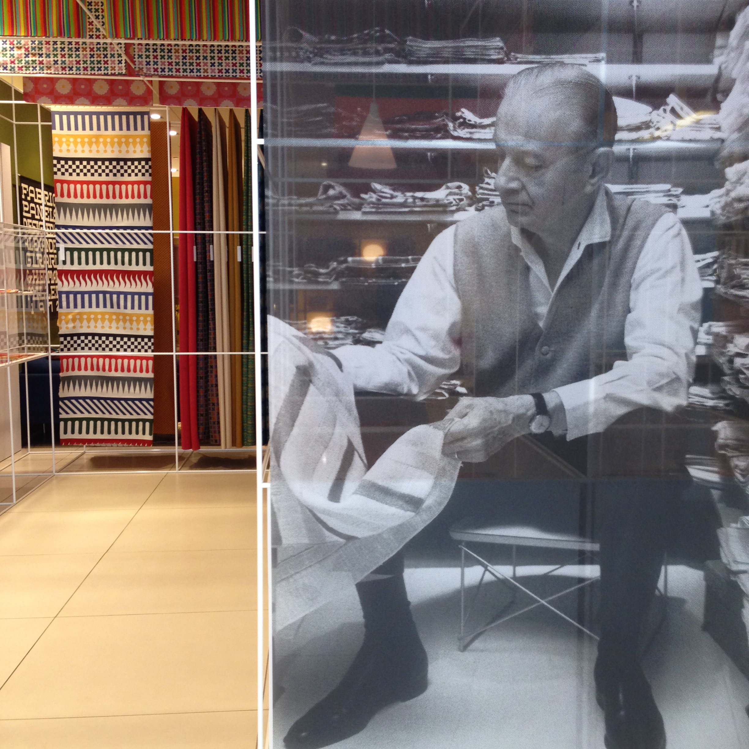 A look at Alexander Girard, Herman Miller's Textile Man