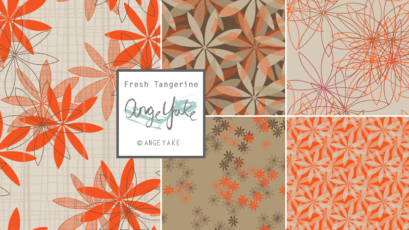 Ange Yake - Custom Surface Design - Collection - Fresh Tangerine.png