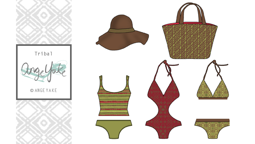 Ange Yake - Custom Surface Design - Swim - Tribal.png