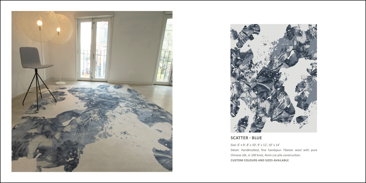 SCATTER Blue - Perennial Collection