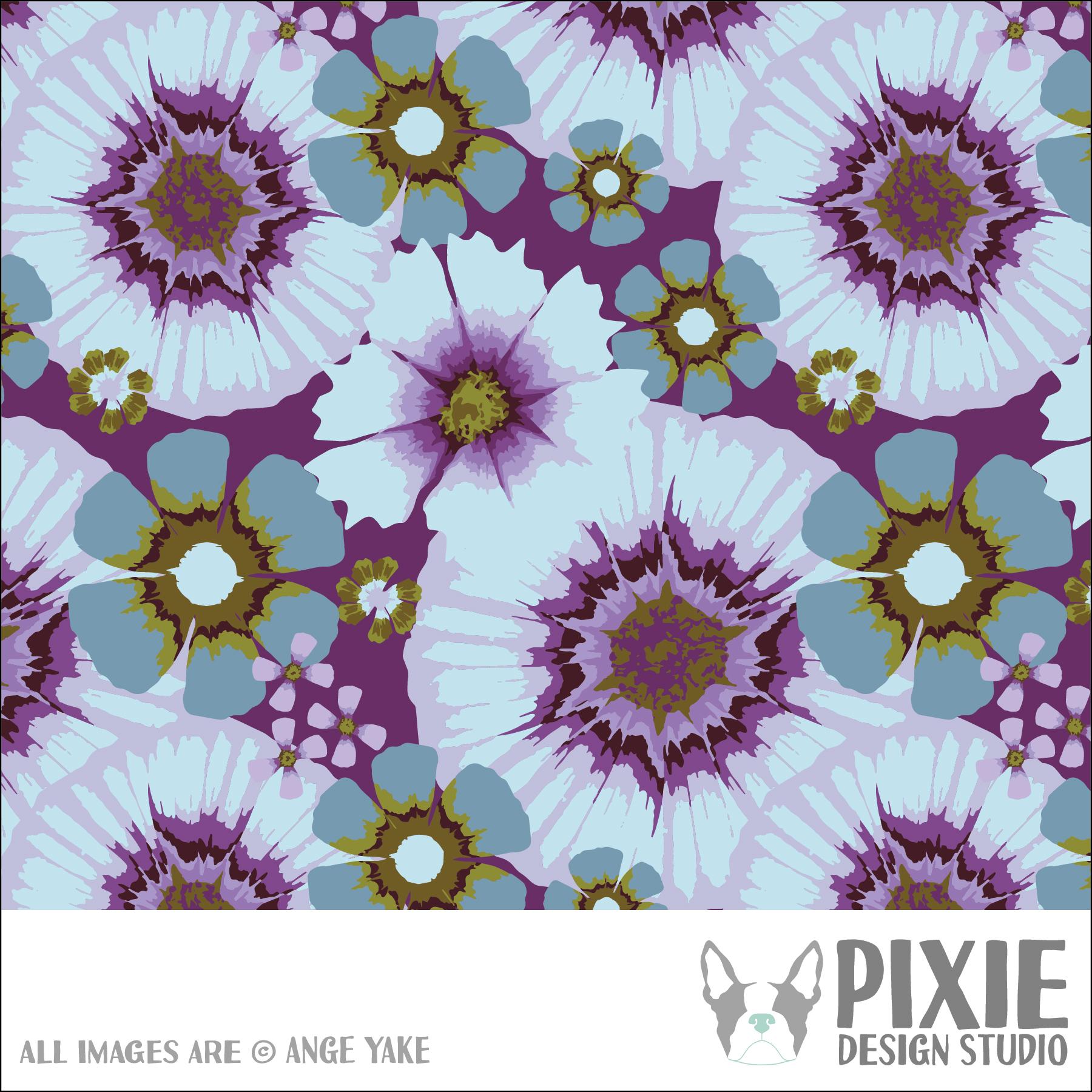 PURPLE FLOWERS-001