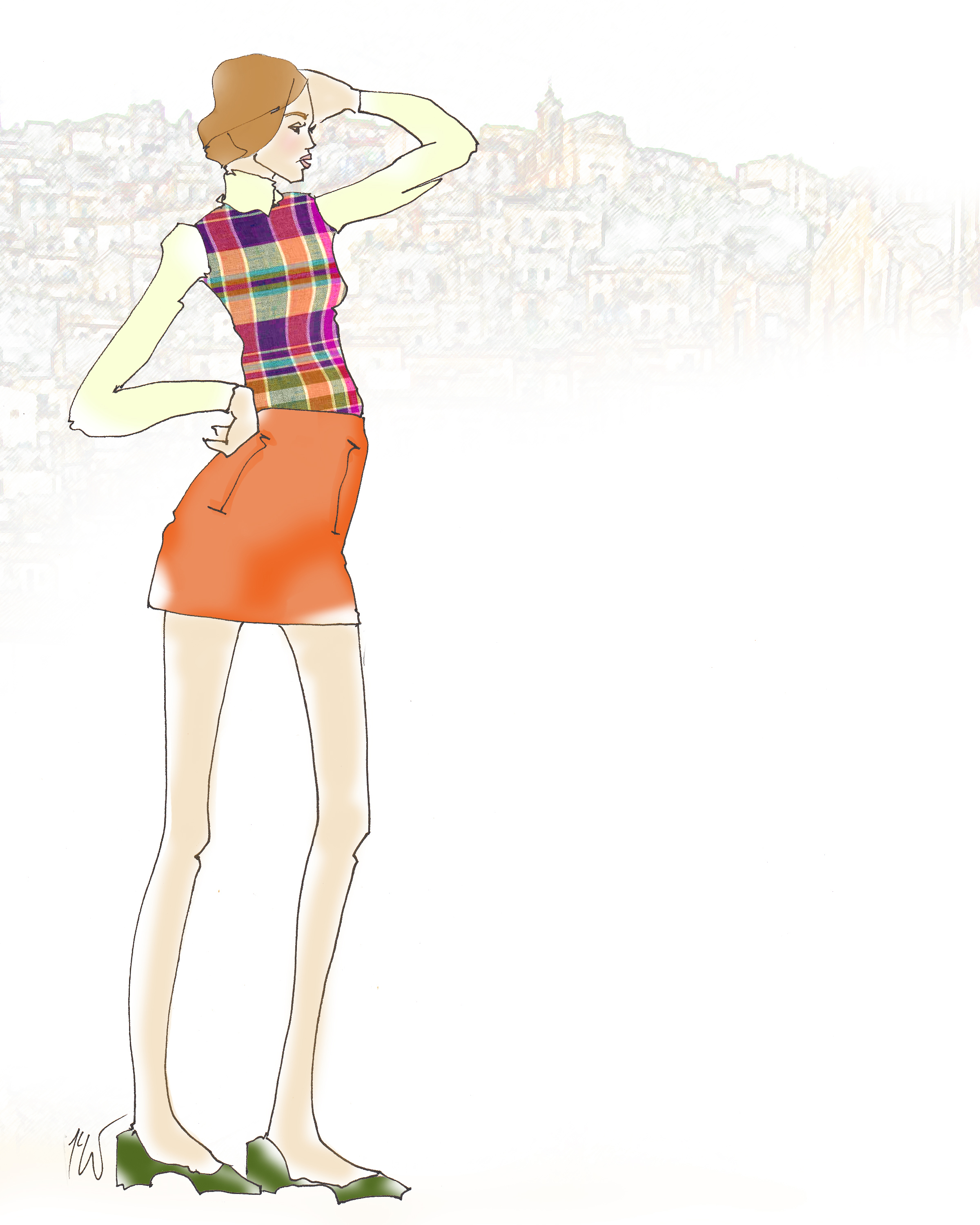 60s City Girl by Tanya Leigh Washington.jpg