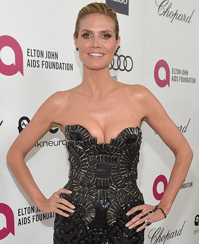 SEXY, ELEGANT, AND CHIC WITH HEIDI KLUM