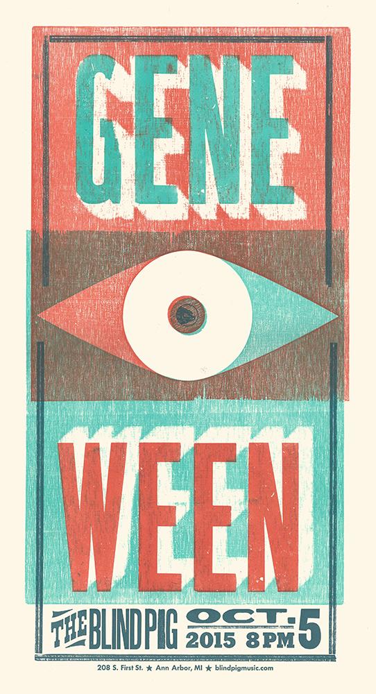 Gene Ween Show Poster
