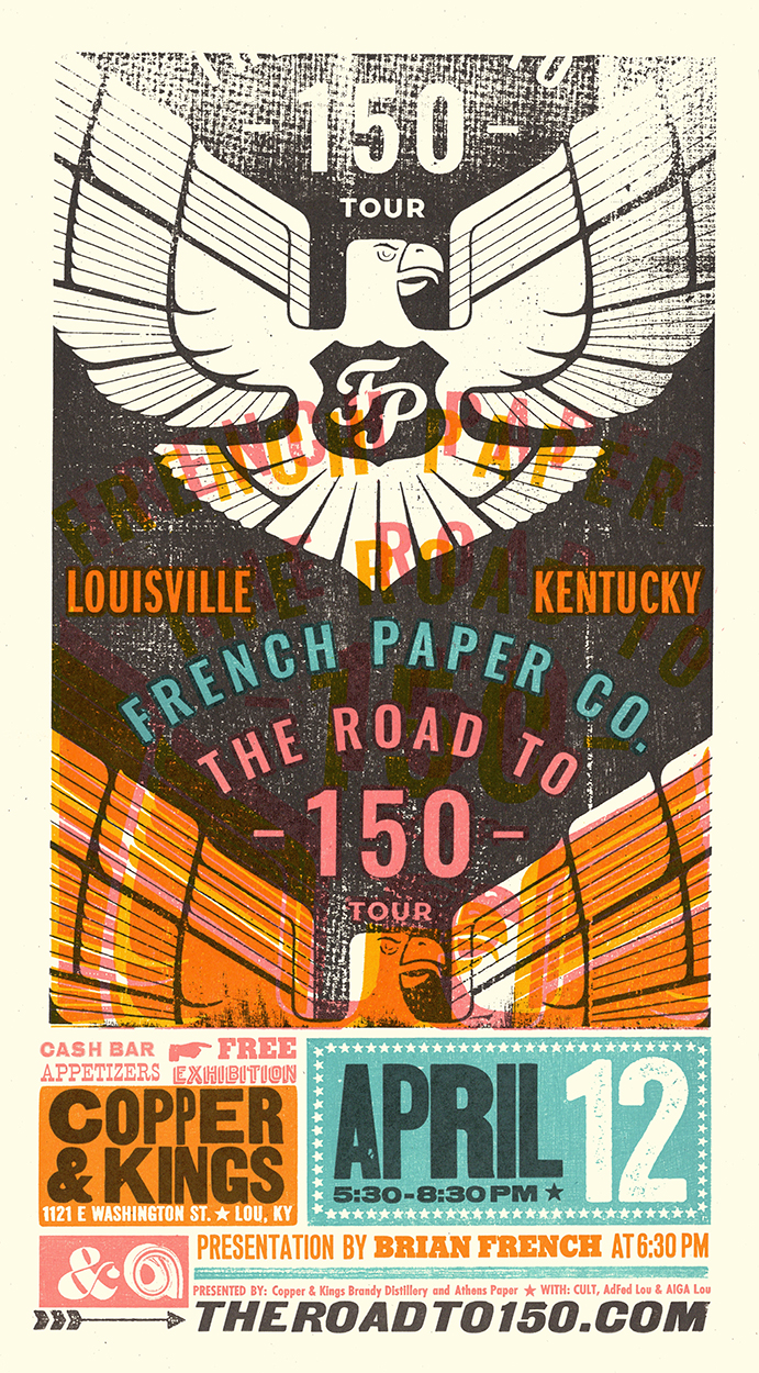 French Paper Co. (Road to 150) Poster