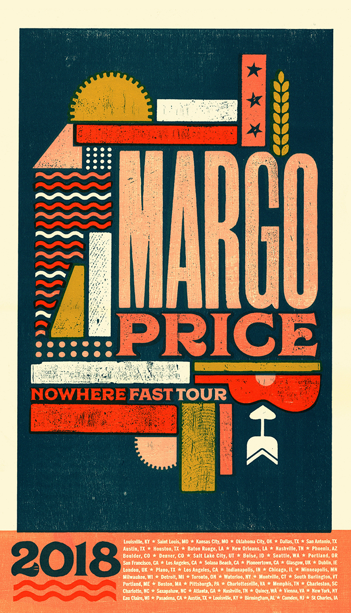 Margo Price Tour Poster