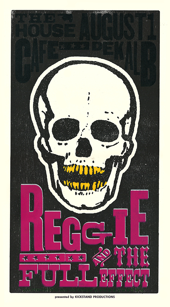Reggie and the Full Effect Show Poster