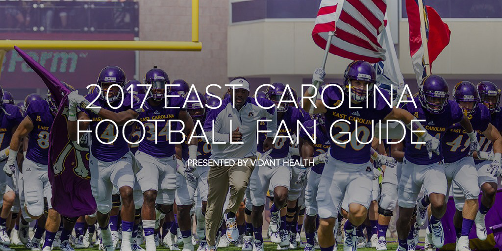 Pioneering the future of digital sports publications with this East Carolina Football season guide, developed on Adobe Spark. Copyright IMG College 2017.
