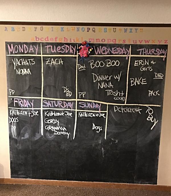 This week's schedule looks intense