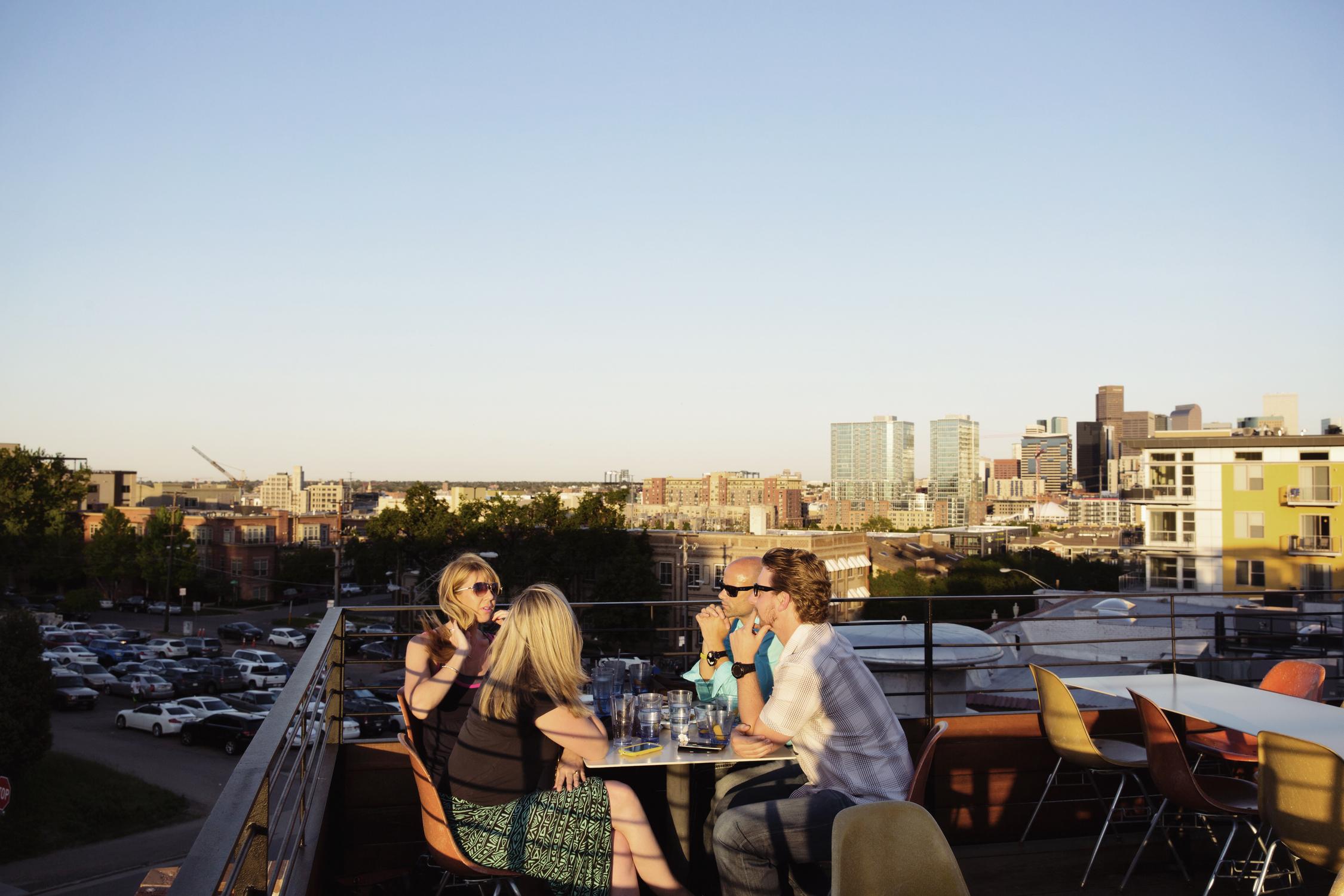 Linger rooftop