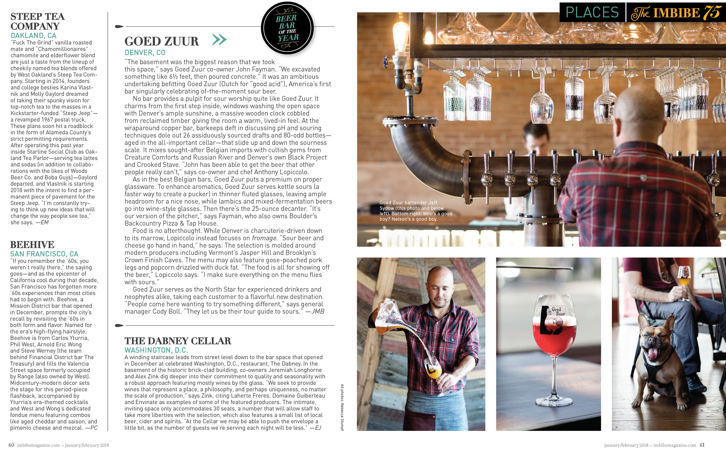 Goed Zuur for Imbibe magazine by Rebecca Stumpf Colorado Denver Boulder Editorial and Commercial Food Travel and Lifestyle Photography