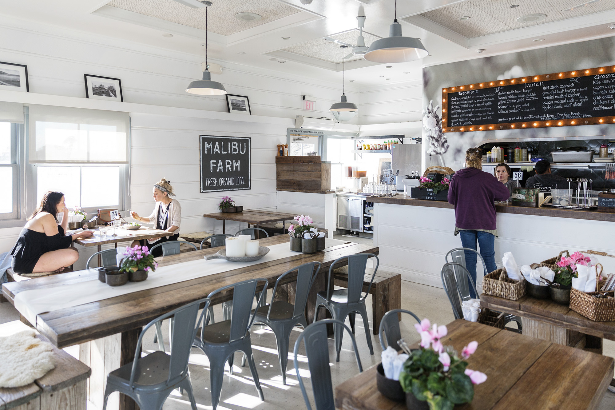 Malibu Farm Restaurant by Rebecca Stumpf Colorado Denver Boulder Editorial and Commercial Lifesttyle Food Travel Photographer