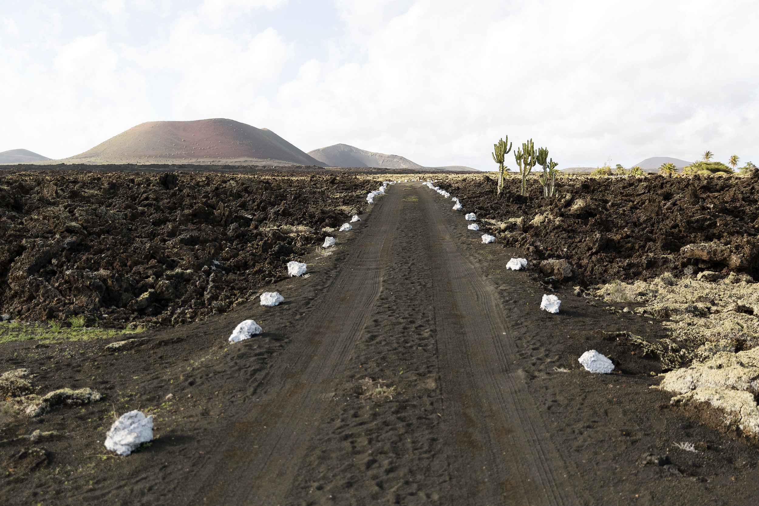 A Lanzarotan road in the Canary Islands by Rebecca Stumpf, Denver Boulder Colorado Editorial and Commercial Photographer.