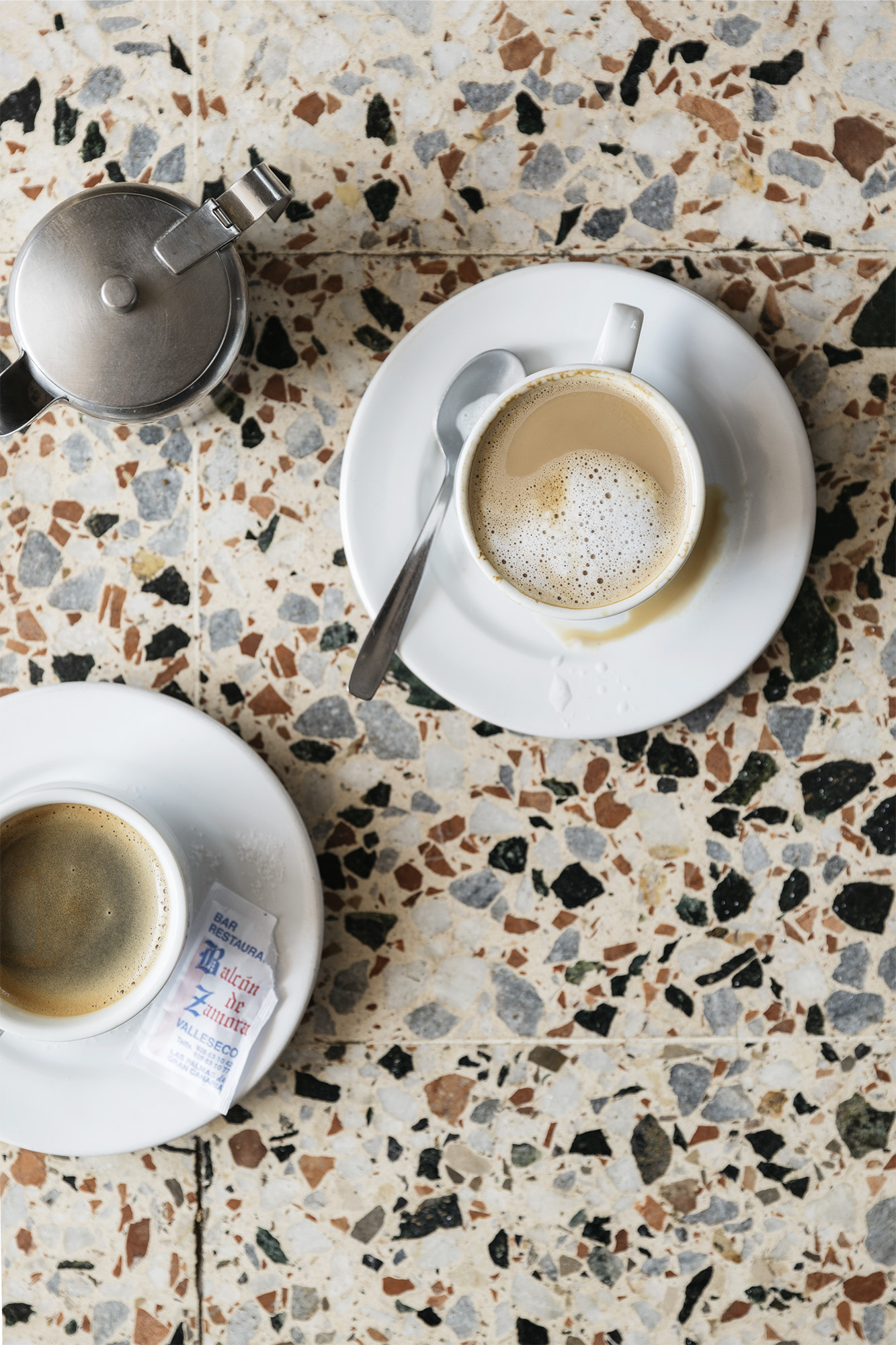 Coffee in the Canary Islands by Rebecca Stumpf, Denver Boulder Colorado Editorial and Commercial Photographer.