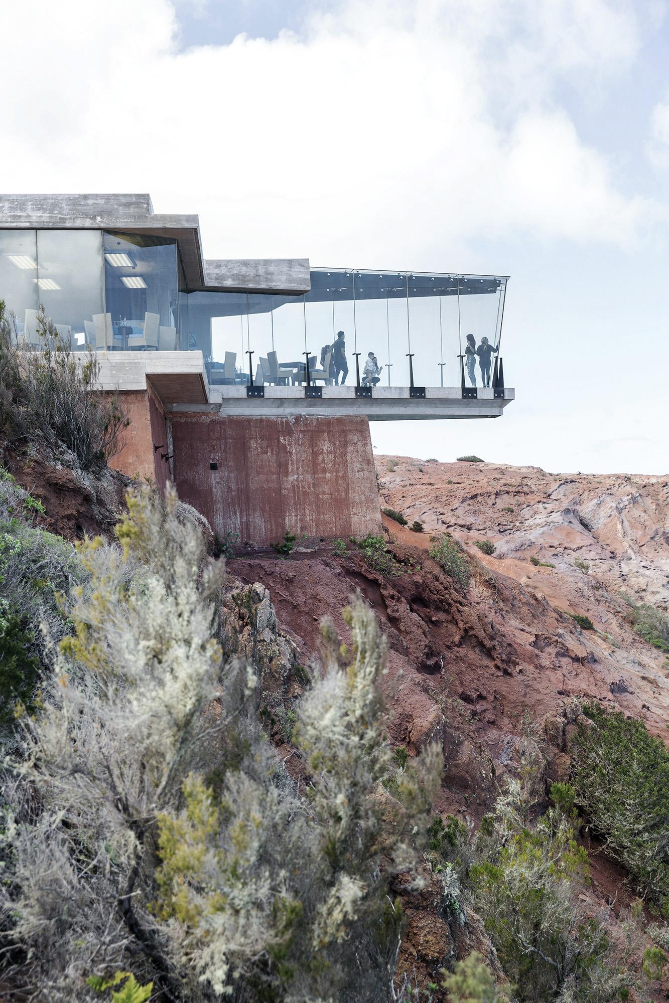 The mirador near La Hermigua in La Gomera in the Canary Islands by Rebecca Stumpf, Boulder, Denver, Colorado Lifestyle, Travel, Food Editorial and Commercial Photographer.